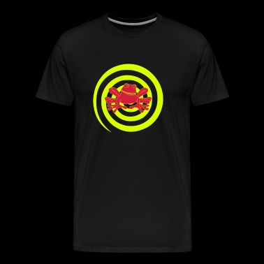 Toad, frog, hypnotic, hypnotize, vector - Men's Premium T-Shirt