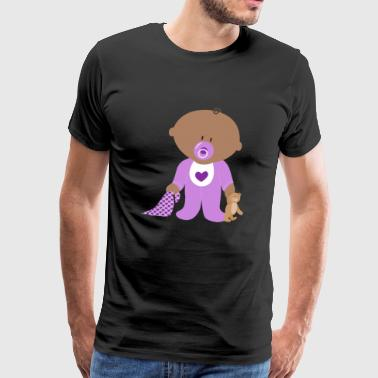 Lino the purple baby - Men's Premium T-Shirt