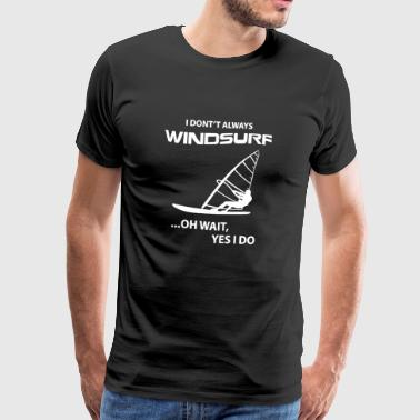 Windsurfing Shirt - Men's Premium T-Shirt