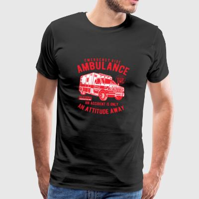 Ambulance Emergency - Herre premium T-shirt