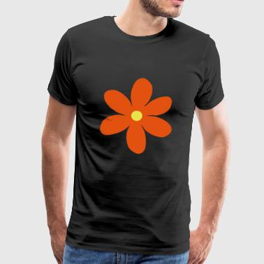 2541614 15142456 flower - Men's Premium T-Shirt