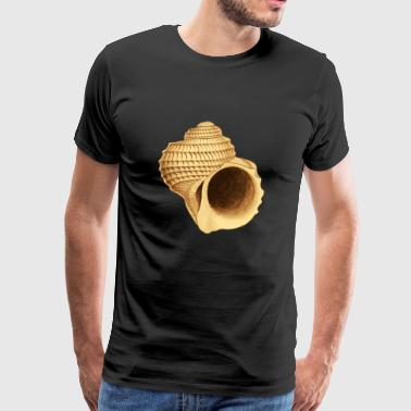 Snail shell motif as a gift idea - Men's Premium T-Shirt