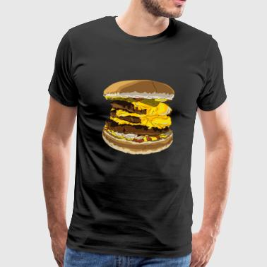 cheeseburger giant - Mannen Premium T-shirt