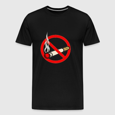 Roken (No Smoking) - Mannen Premium T-shirt