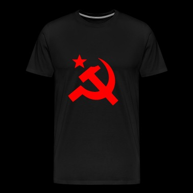 hammer and sickle - Men's Premium T-Shirt