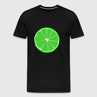 lime lime veggie fruits fruit fruits - Men's Premium T-Shirt