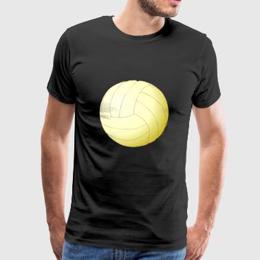 volleyball sports player spieler game waterball13 - Männer Premium T-Shirt