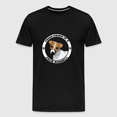 Dog / Jack Russell: Proud Owner Of A Jack Russell - Men's Premium T-Shirt