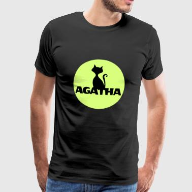 Agatha Name First name Name Motif name day - Men's Premium T-Shirt