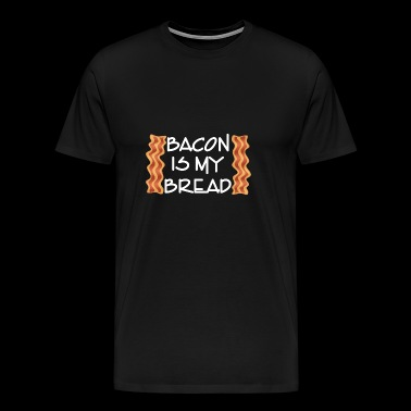 Lowcarb Bacon pain cétoniques glucides Ketarier KH - T-shirt Premium Homme