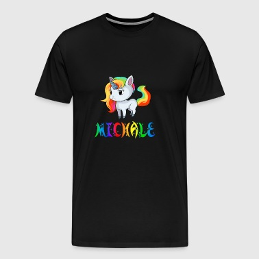 Unicorn Michale - Herre premium T-shirt