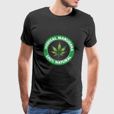 MEDICAL MARIJUANA - Herre premium T-shirt