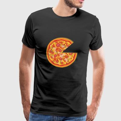 Partnerlook Pizza Partners BFF vriend Liefde Deel 1 - Mannen Premium T-shirt