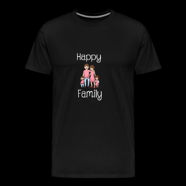 Family Shirt Happy Family - Men's Premium T-Shirt