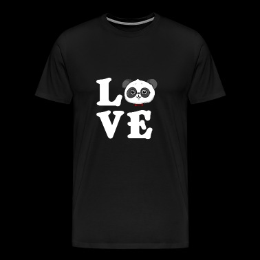 Love Panda love gift - Men's Premium T-Shirt
