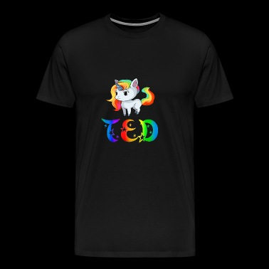Unicorn Ted - T-shirt Premium Homme