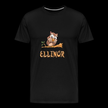 Owl Ellinor - Men's Premium T-Shirt