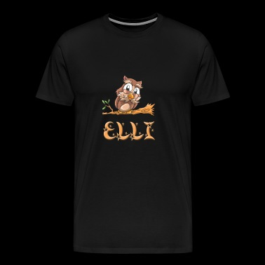 Owl Elli - Men's Premium T-Shirt