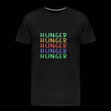 Shop Colorful Hunger Design - T-shirt Premium Homme