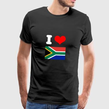 I love South Africa motive design as a gift idea - Men's Premium T-Shirt