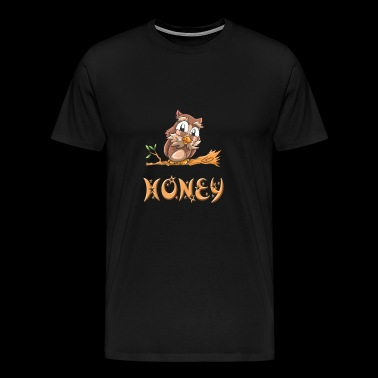 Honey Owl - T-shirt Premium Homme