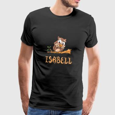 Chouette Isabell - T-shirt Premium Homme