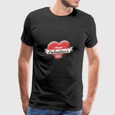 Happy Valentine's Day Valentine's Day 2018 Gift - Men's Premium T-Shirt