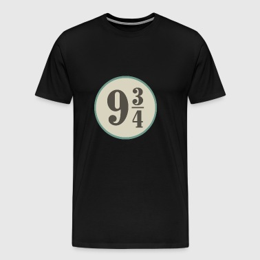 number, 9, three quarters - Men's Premium T-Shirt