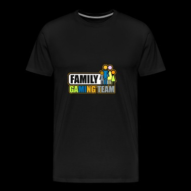 Family gaming team - Men's Premium T-Shirt