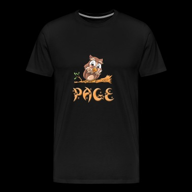 Owl page - Men's Premium T-Shirt