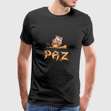 Owl Paz - Men's Premium T-Shirt