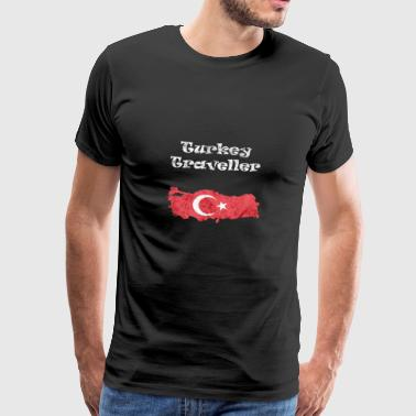 Turkey Traveller - Männer Premium T-Shirt