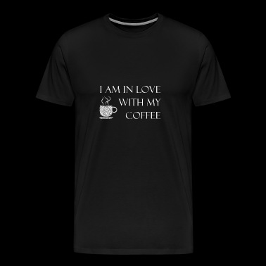 Coffee love morning muff awake maker gift - Men's Premium T-Shirt