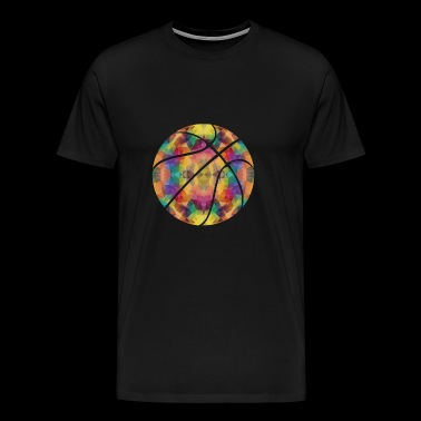 Basketball Geometric Gift Design - Men's Premium T-Shirt