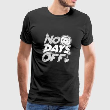 NO DAYS Fitness Gym Motivation body building - Men's Premium T-Shirt