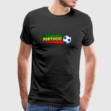 Soccer Portugal. Gift. - Men's Premium T-Shirt