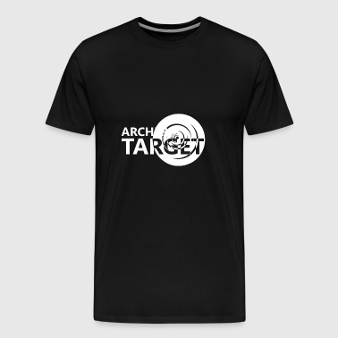 Archer archery target disc gift - Men's Premium T-Shirt