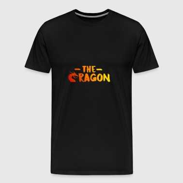 Le Dragon [Rouge] - T-shirt Premium Homme