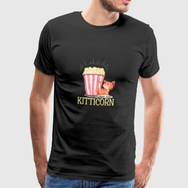 Kitticorn = chatons + pop-corn - T-shirt Premium Homme