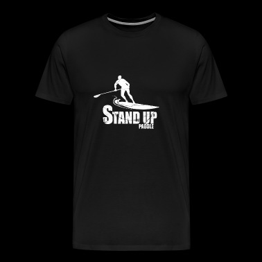 STAND UP PADDLE - Men's Premium T-Shirt