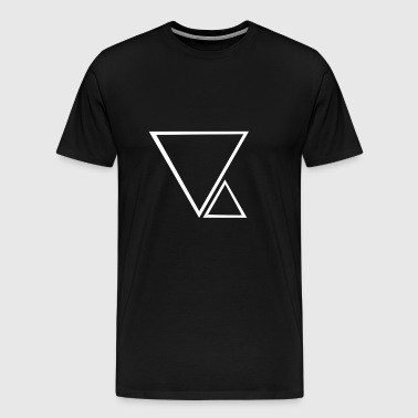 2 trianglar - Premium-T-shirt herr