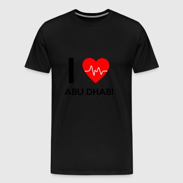 I Love Abu Dhabi - I Love Abu Dhabi - Men's Premium T-Shirt