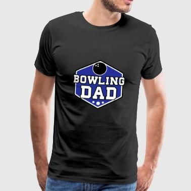 Bowling Dad - Men's Premium T-Shirt