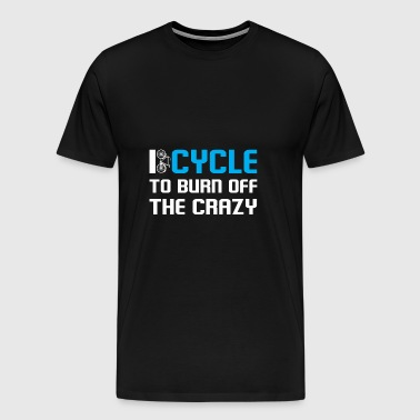 My bike is my therapy - Men's Premium T-Shirt