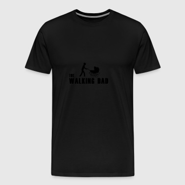 Walking dad - Men's Premium T-Shirt