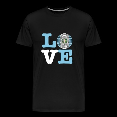 GUATEMALA HEART - Men's Premium T-Shirt
