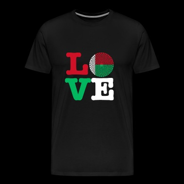 MADAGASCAR HEART - Men's Premium T-Shirt
