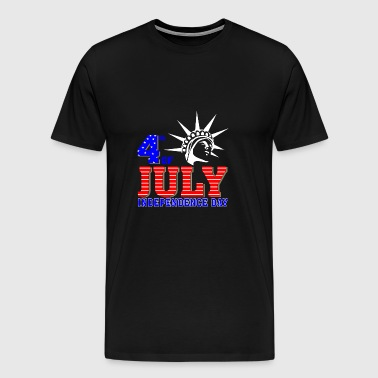 4th of July 2017 Independence day - Men's Premium T-Shirt