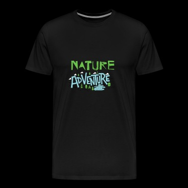 Nature Adventure - Männer Premium T-Shirt