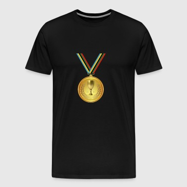 Gold medal, medal, winner winner - Men's Premium T-Shirt